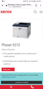 Xerox Phaser 6510  Wireless Colour Laser Printer
