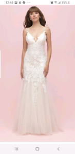 Size 8 allure wedding dress