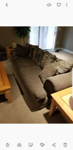 Couch and love seat, excellent condition