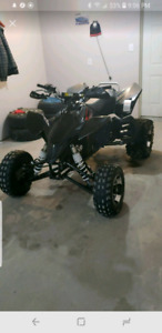 Parting out 2008 suzuki quad racer 450r