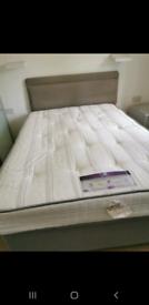 Divan Double Bed (Sealey posturepedic, Casablanca ortho)