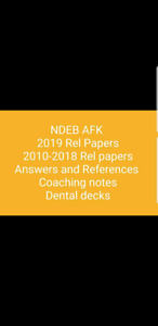 Ndeb books notes released papers