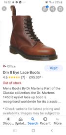Men's Doc Martens size 7