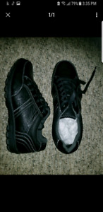 Plain Black Shoes Never Worn size 9