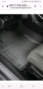 2017 Honda Civic all weather floor mats .