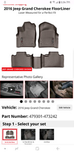 Weathertech Jeep liners