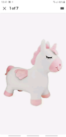 LexibookInflatable Jumping Plush Unicorn