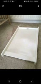 Free Cot top changer (kiddecare)