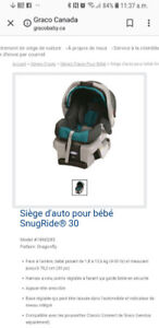 Coquille Graco Snugride 30 Dragonfly