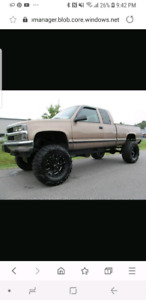 Wanted mint 1996-98 CHEVY OR GMC 1500 or 2500 pickup
