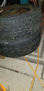 195/60/r15 **WINTER TIRES**$$$300$$$ OBO**WITH OR WITHOUT RIMS