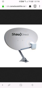 Satellite tv dishes and lnb