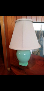 Mint Green Ceramic Table Lamp
