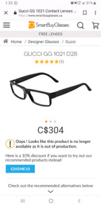 Gucci GG1021 Men's Prescription Glasses
