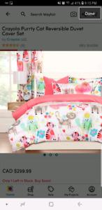 Kitty comforter set