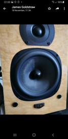 Quad 12L speakers