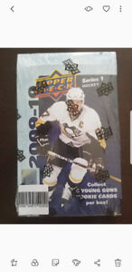 2009/10 UPPER DECK HOCKEY BOX SERIES 1 (HOBBY) TAVARES KARLSSON