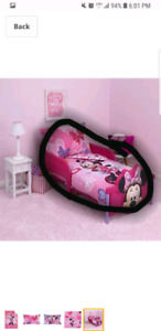 Toddler bed and bedding sets