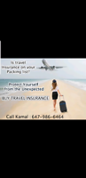 Get your Travel insurance coverage.. call today 6479866464