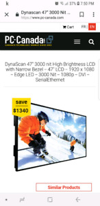 DynaScan DS2 Line 47 inch Advertising LCD Monitor