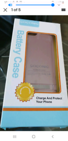 Iphone 5 Battery Case Soconic Boxed