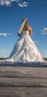 Maggie Sottero wedding gown Ivory