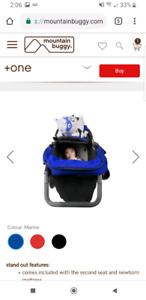 Mountain Buggy Plus one, jogging stroller