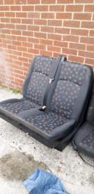 Campervan seats Mercedes vito seats etc look