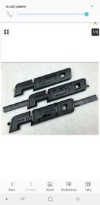 2009-2014 Ford F150 FX4 Black badges