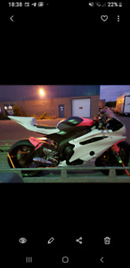 Yamaha r6 with papers track bike