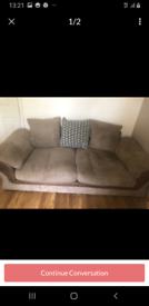 Free to good home 3 seater sofa