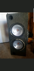Amp and subs