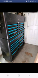 47 in Mastercraft tool chest/box