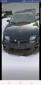 2001 SUNFIRE GT LOW KM  parts car