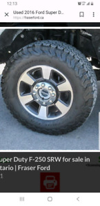 Ford F250 Lariat Stock Rim's For Sale