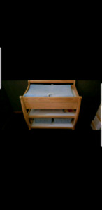 Change table with drawer
