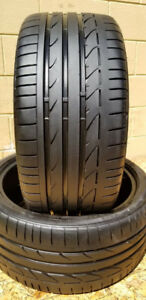 Set of 2   255/35/19 Bridgestone   70% tread
