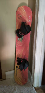 Duotone Snowboard 43 T1 with Bindings, 143cm, ex.cond.