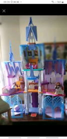 Elsa and ana large doll house