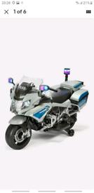 Homcom 6V Electric Ride on Toy Car Kids Motorbike Children Battery Tri