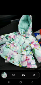 Ted baker baby girl jacket