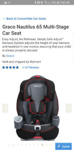 Graco 3 in 1 car seat, like new!