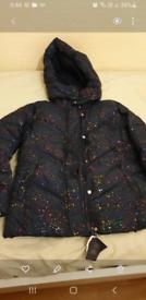 Girls winter coat age 7-10