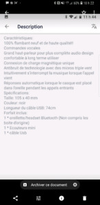 Oreillette bluetooth  514-647-0462