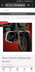 Yamaha crash bars