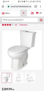 Brand new in box toilet