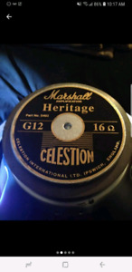 Looking for a celestion marshall heritage g12 16 ohm