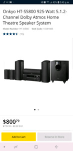 Onkyo HT-S 5800  dolby atmos 925 watts