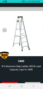 20' Ladders and 8' step ladder