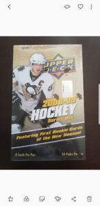 2008/09 UPPER DECK HOCKEY WAX BOX SERIES 1 (HOBBY)